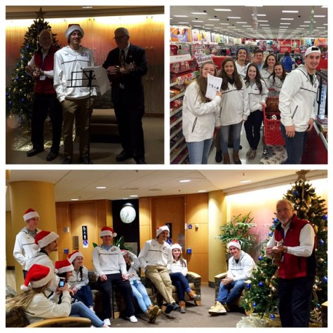 ALC visits Manchester Children's Hospital during Christmas Vacation.